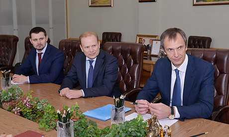Банкиры «ВТБ 24» побывали у брянского губернатора