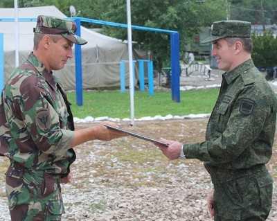 Начальник Брянского УМВД побывал у земляков на Кавказе