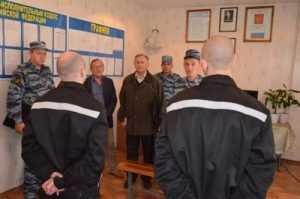 Брянские общественники встретились с узниками колонии