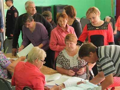 На Брянщине явка избирателей превысила 42 процента