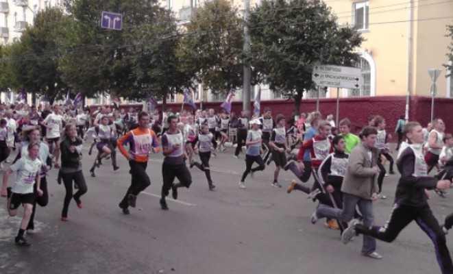 «Кросс нации» пройдёт в Брянске 21 сентября