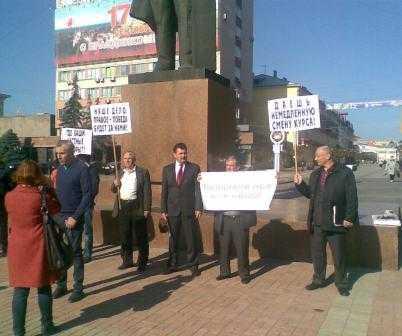 Брянские коммунисты выступили против фальсификаций на выборах