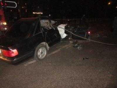 Скончался водитель «Ауди», разрезанной буксировочным тросом в Брянске