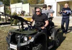 Вице-премьера Рогозина впечатлили брянские квадроциклы