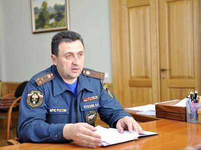 Начальник брянского управления МЧС Кобзев отстранён от должности