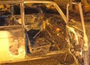Брянская полиция поймала поджигателя трёх легковушек