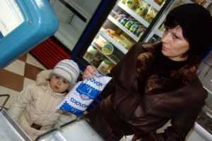 Молоко в брянских магазинах будут маркировать знаком качества