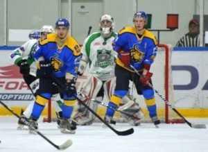 Хоккеисты «Брянска» пропустили 7 шайб от литовского «Жальгириса»