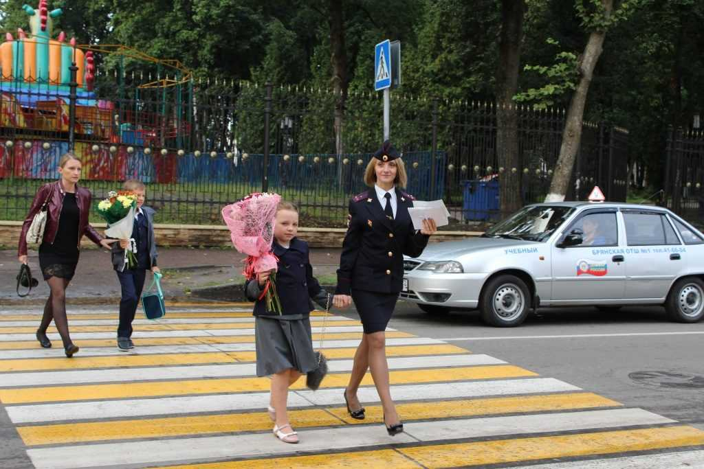 Брянские гаишники попросили о помощи родителей школьников