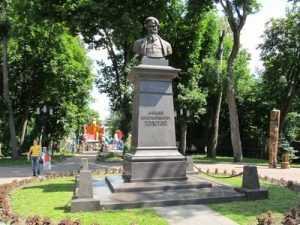 В брянском парке будут читать стихи А.К. Толстого