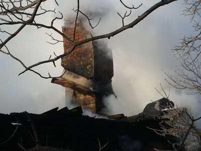 В брянской деревне сгорел единственный магазин