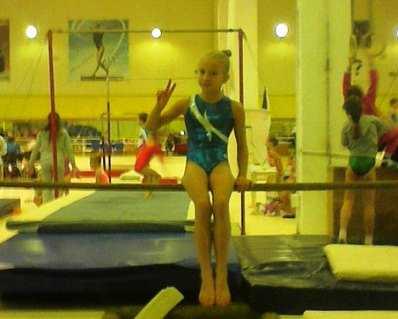 Брянская гимнастка взяла «золото» на турнире «Надежды спорта»