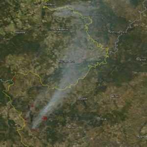 Москву переполошили чернобыльским дымом из Брянской области