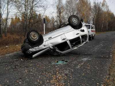 Пьяный брянский водитель перевернул внедорожник и превратился в калеку