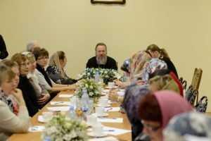 Митрополит Брянский Александр встретился с учителями