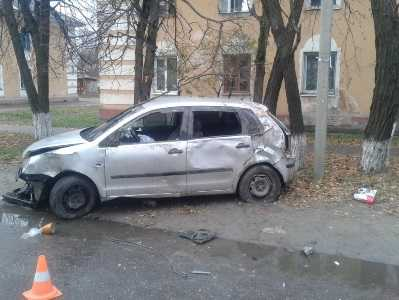 При столкновении легковушек в Клинцах пострадал 4-летний ребёнок