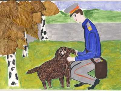 Брянская полиция проводит конкурс детского рисунка