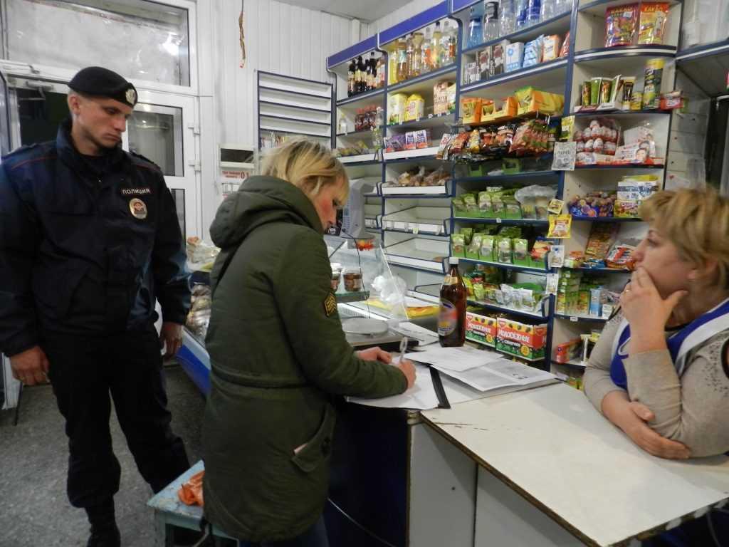 Брянская полиция провела антиалкогольные рейды в Мглине и Сураже