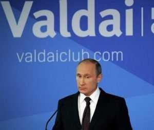 Олег Розанов о Валдайской речи В. Путина: «Медведь волков не боится»