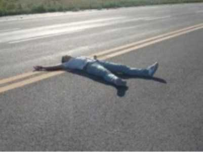 На брянской трассе «ВАЗ» насмерть задавил лежавшего парня