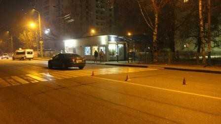 В Брянске водитель «ауди» сломал нос студентке БГУ