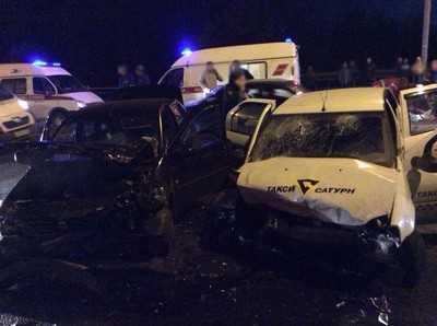 На путепроводе станции Брянск II случились два ДТП – погиб человек