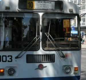 В Брянске остановились все троллейбусы – город остался  без света