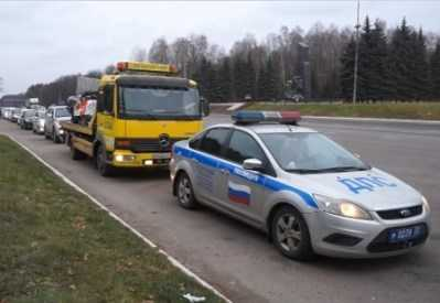 В Брянске автопробегом почтили память жертв ДТП