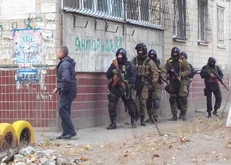 Свихнувшийся украинский «ветеран АТО» расстрелял Днепропетровск