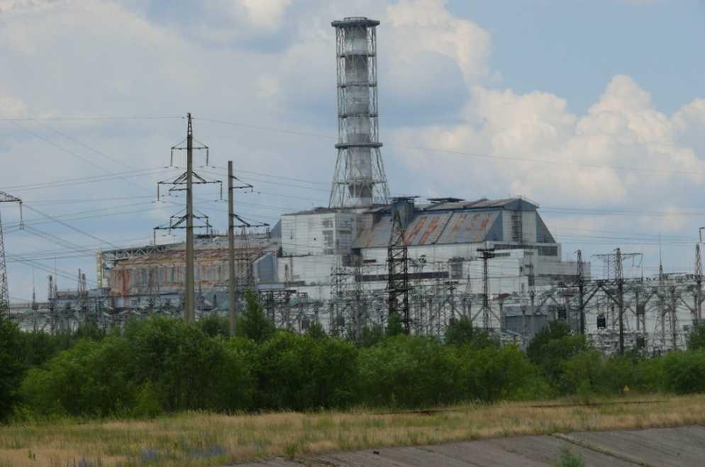 Французы возводят саркофаг над Чернобыльской АЭС