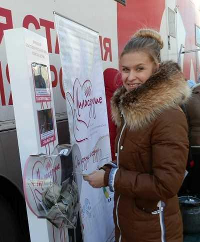 В Брянске 125 человек поделились своей кровью