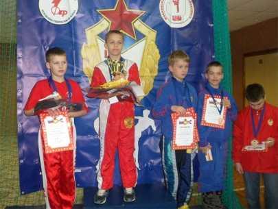 Брянец выиграл всероссийские соревнования по кикбоксингу