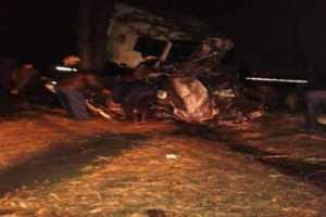В ДТП на брянской трассе погибли два человека, шестеро ранены