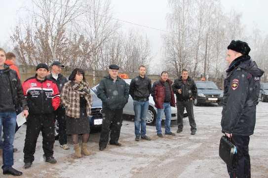 Брянские таксисты пообещали помогать полиции