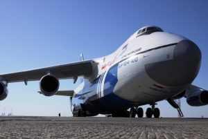Накануне годовщины иркутской трагедии на Брянщину прилетел новый «Руслан»