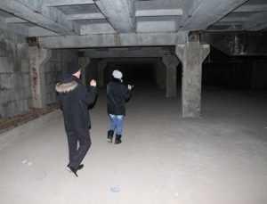В Брянске на Бежицкой достроят большой подземный гараж