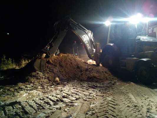 Из-за аварии без газа остались Домашово Денина и два брянских района