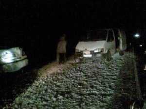 Под Калугой «Шкода» сбила троих брянцев и протаранила фургон