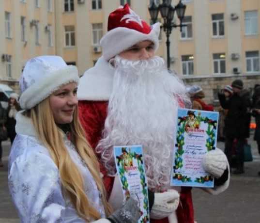 В Брянске новогодним транспортом будут управлять Деды Морозы