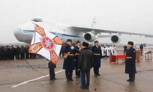 Сещинскому авиаполку вручили боевое знамя