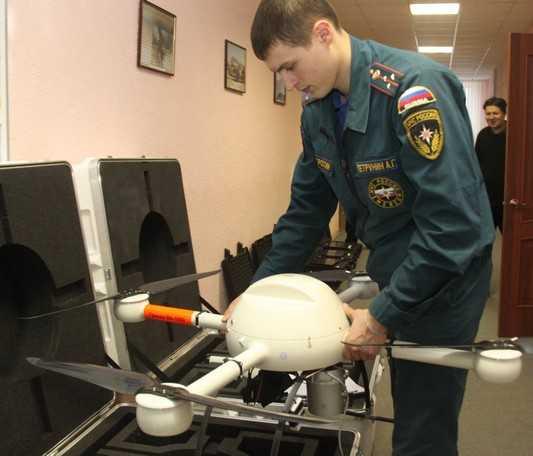 Брянские спасатели получили беспилотники для разведки