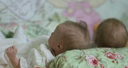 У брянской женщины в Дании отобрали двойняшек