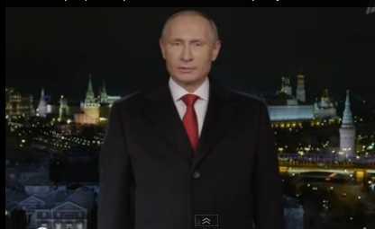 Владимир Путин сказал в новогоднем обращении о Крыме