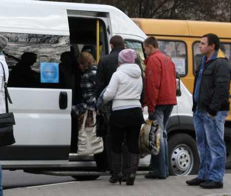 Жительница Брянска получила травму в маршрутке