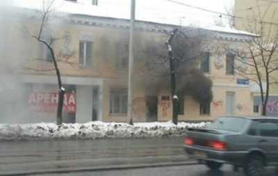 В Харькове забросали «коктейлями Молотова» «антиукраинскую» газету