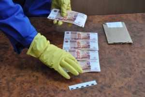 В Гагарине задержали москвича, сбывавшего фальшивые купюры в Брянске