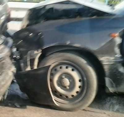 В Брянске при столкновении пострадал саратовский водитель
