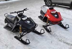 Колядовавшие брянские подростки украли два снегохода