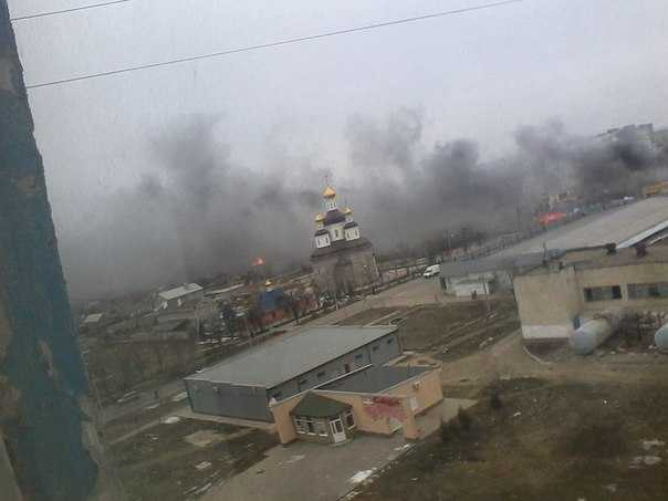 Война пришла в Мариуполь — город обстреляли «Градами»