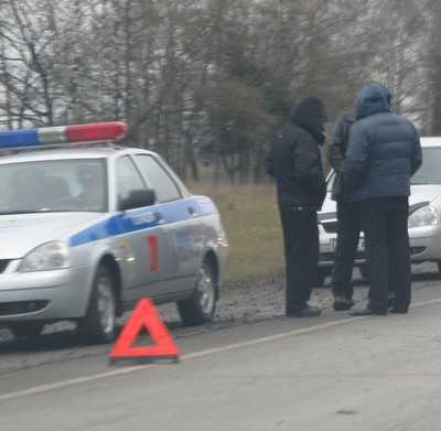 На брянской трассе перевернулся житель Подмосковья